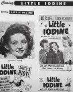 Little Iodine 1946 ad