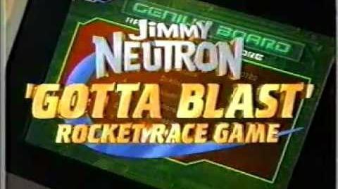 Nickelodeon Jimmy Neutron Gotta Blast Rocket Races promo 2 (2002)