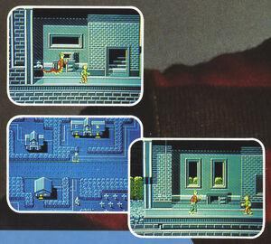 Elm Street NES Beta screenshots