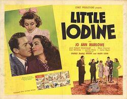 Little Iodine 1946 poster
