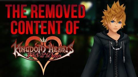 The Removed Content of Kingdom Hearts 358 2 Days