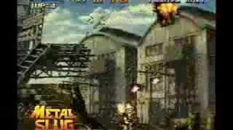 METAL SLUG 1 GBA Footage E3 2005 (Courtesy SNK Playmore)-0