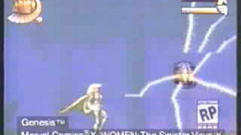 X-Women: The Sinister Virus (Cancelled Sega Genesis/Mega Drive game; 1996-1997)