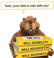 Bell-tries-telus-style-marketing-beaver-ads-lousy-but-more-effective
