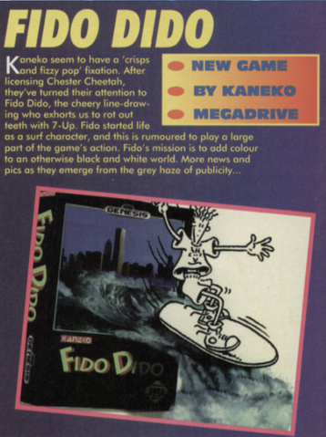 File:Fido Dido Genesis Early Box Art Mean Machines Sega Issue 10.png