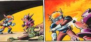 Sparkster the Rocket Knight Unreleased Comic Photo4