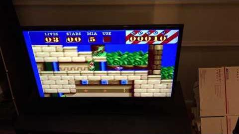 Putty Squad unreleased Sega Mega Drive Prototype