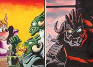 Sparkster the Rocket Knight Unreleased Comic Photo8