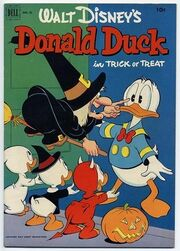 Donald Duck in Trick or Treat-1-