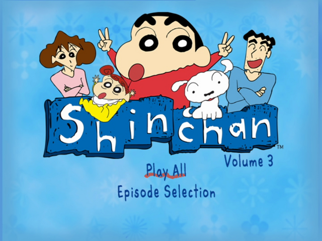 File:Shin Chan Volume 3 Main Menu.png