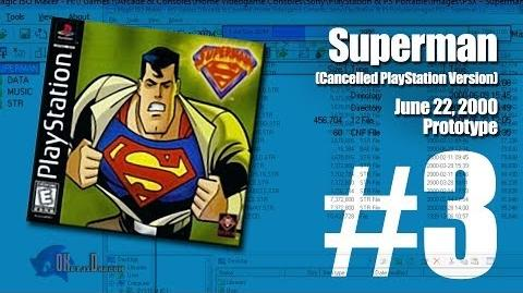 (Part 3) Superman -Unreleased PlayStation version- - June 22, 2000 Prototype