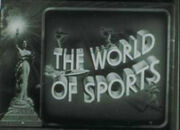 The World Of Sports Columbia Pictures