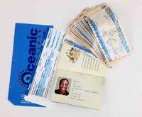 Eko's passport