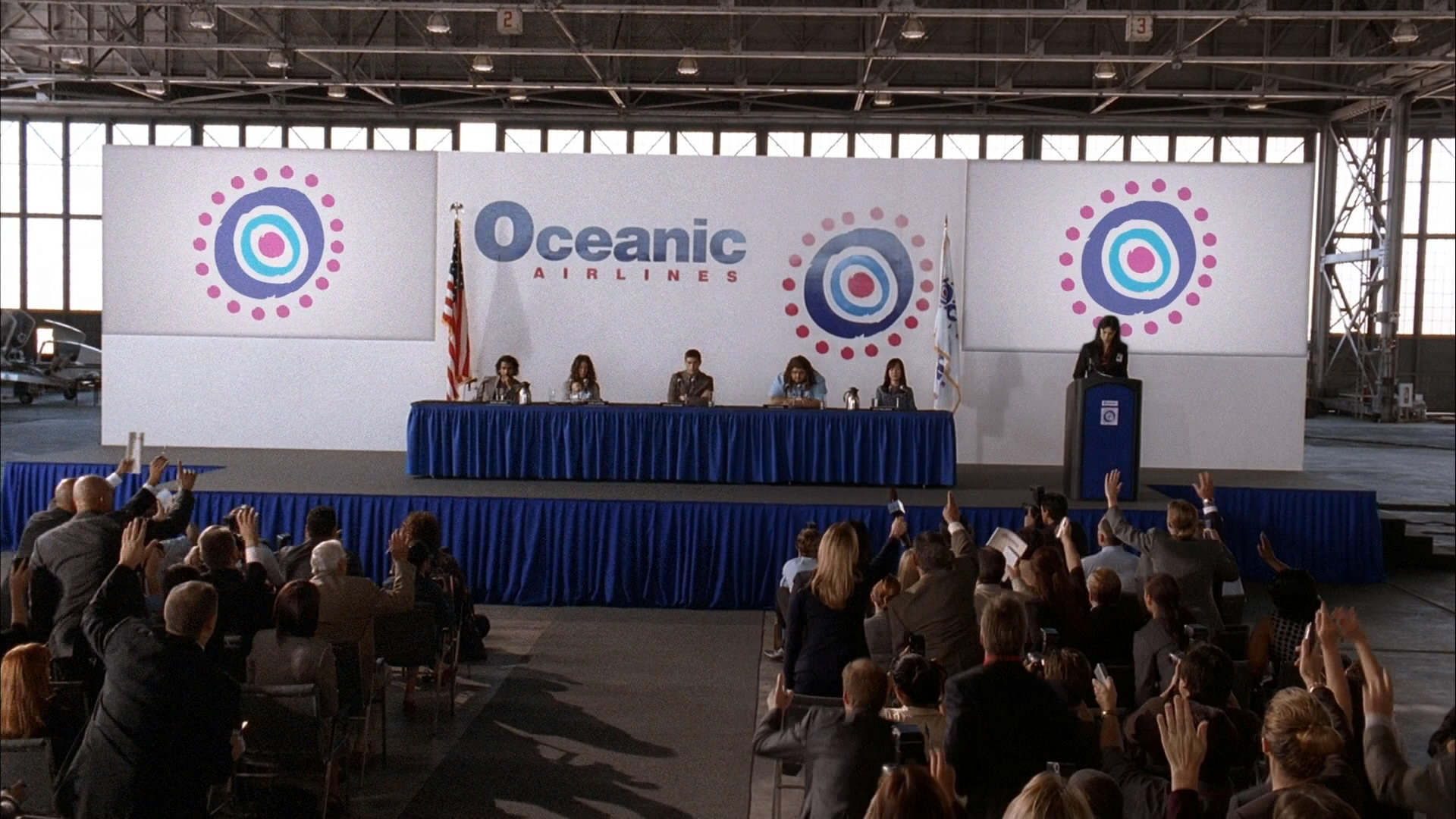 Oceanic Six Press Conference Lostpedia Fandom Powered
