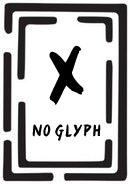 NoGlyph