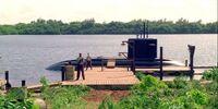 Widmore's submarine