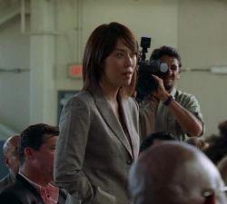 Reportera coreana