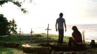 2x09 kate sayid graveyard