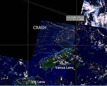 Oceanic 815 Poss Crash area