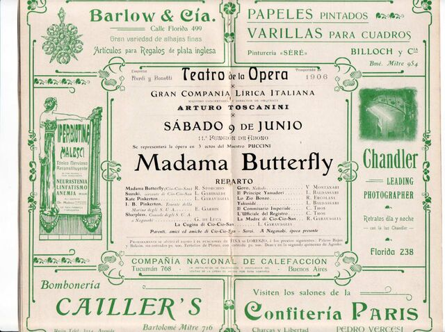 File:Madama Butterfly Storchio De Luca Toscanini Jun9-1906 Center.jpg