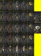 EX-NEVEC Costumes