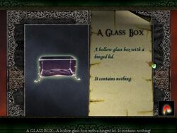 """Limbo of the Lost """"Glass Box"""""""