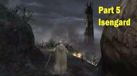 LotR Return of the King - Walkthrough Game - the Road to Isengard - Part 5