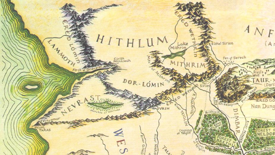 children of hurin map - photo #18