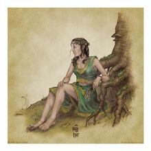 Elf Maiden by aautio