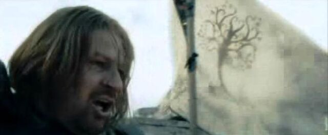 File:Boromir and the white banner of Gondor.JPG
