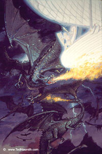 Eärendil slays Ancaglon