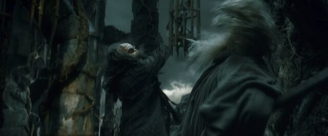 File:Thrain and Gandalf at Dol Guldur.jpg
