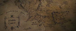Middle Earth map - FOTR
