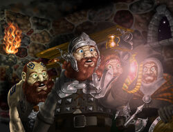 The dwarves steal the silmaril by sboterod-d3c3ur8