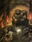 Great goblin by John Howe