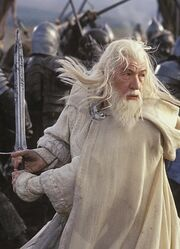 Gandalf; The White
