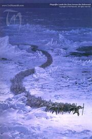 TN-Fingolfin Leads the Host Across the Helcaraxe