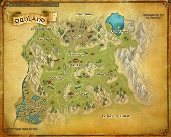 Map - Dunland