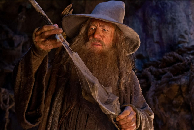 File:Gandalf and Glamdring.PNG