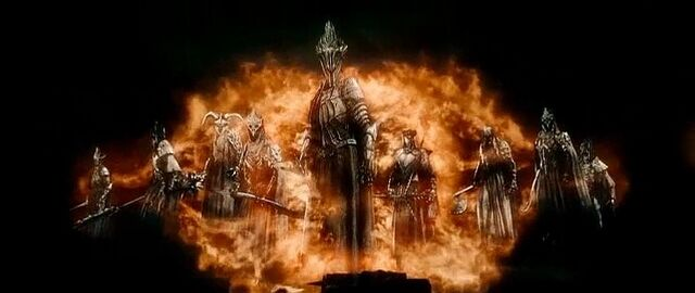 File:The Ringwraiths with the Witch-king at the foremost.jpg