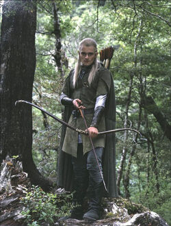 Legolas with bow