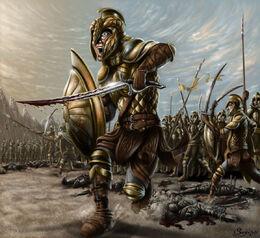 Vanyar elves in war of wrath by sboterod-d3daptm