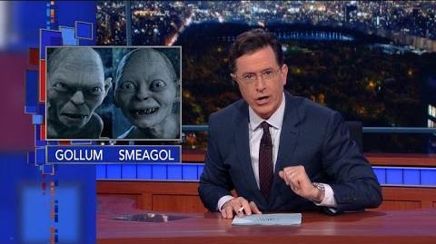 Finally, Stephen's Tolkien Geekdom Pays Off