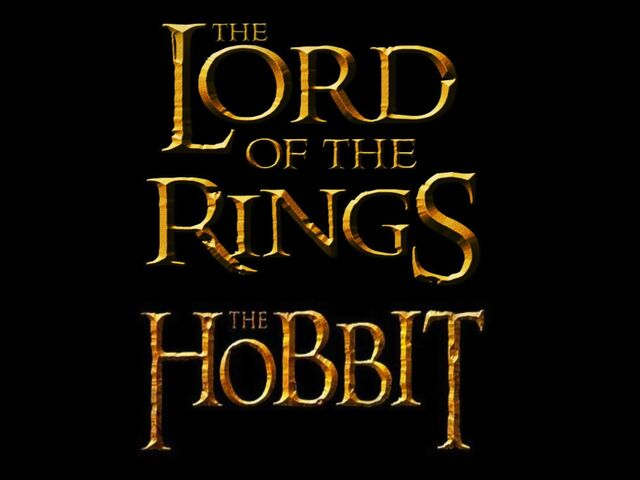 File:The Lord of the RIngs. the Hobbit. Logo.jpg