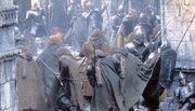 Gondorians defending minas ithil