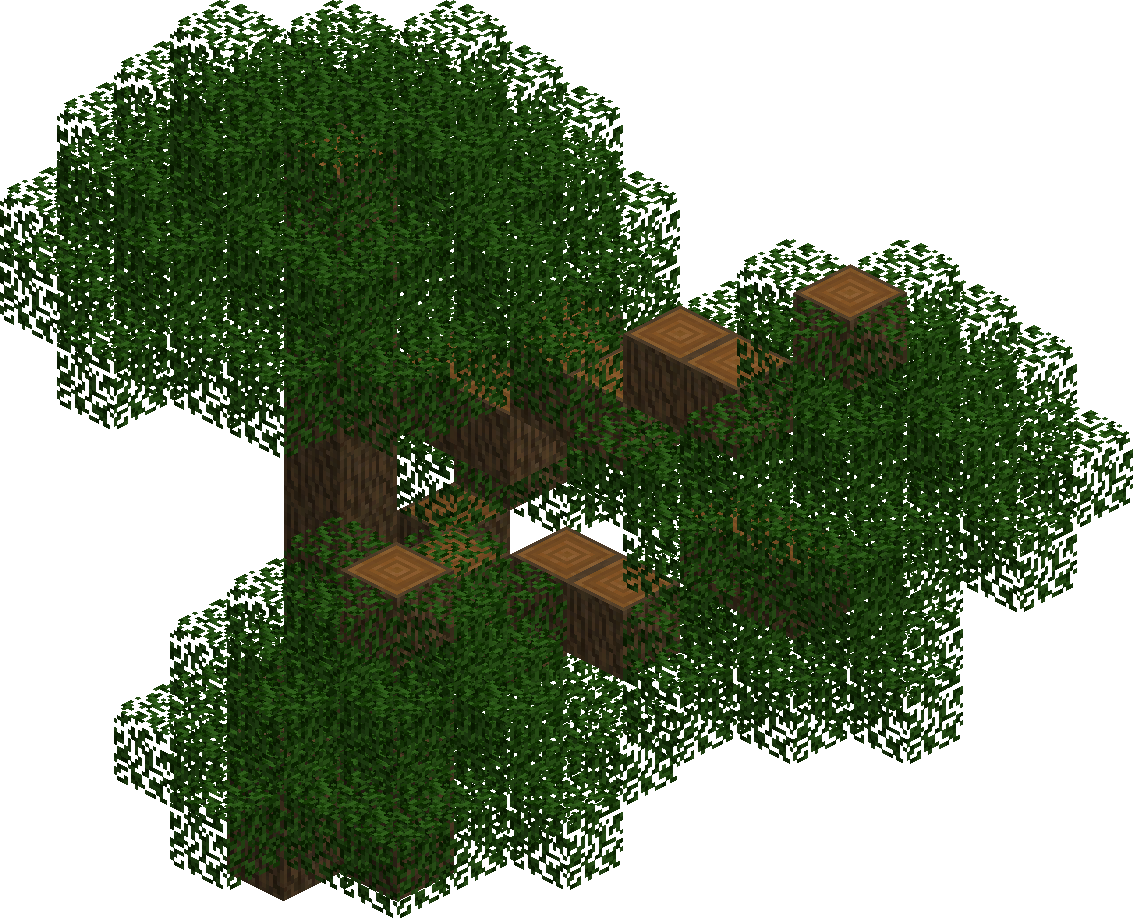 Cedar Tree The Lord Of The Rings Minecraft Mod Wiki