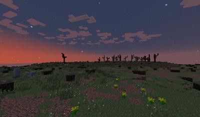 Sunrise over the East Bight
