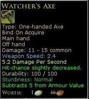 WatchersAxe