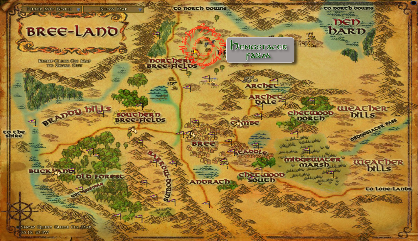 Bree Lord Of The Rings Online Wiki Fandom Ed By Wikia