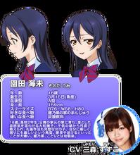 Sonoda Umi Character Profile